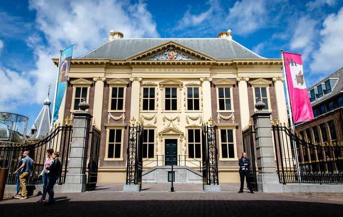 Het Mauritshuis in Den Haag.