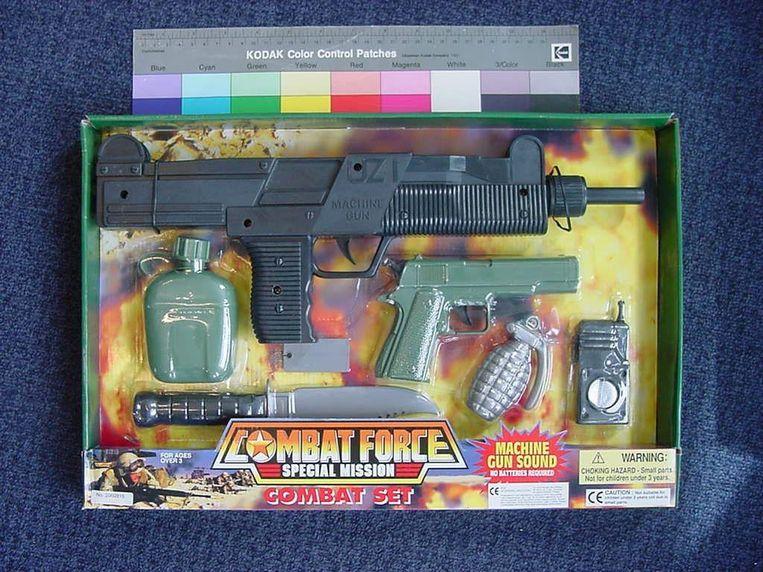 Speelgoedwapens. Beeld null