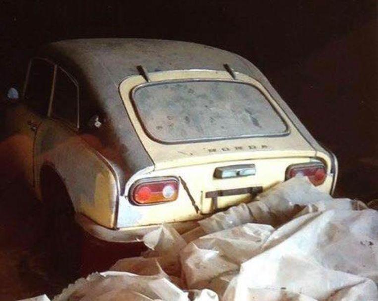 honda 50 jaar Zeldzame, 50 jaar oude Honda gestolen uit loods: