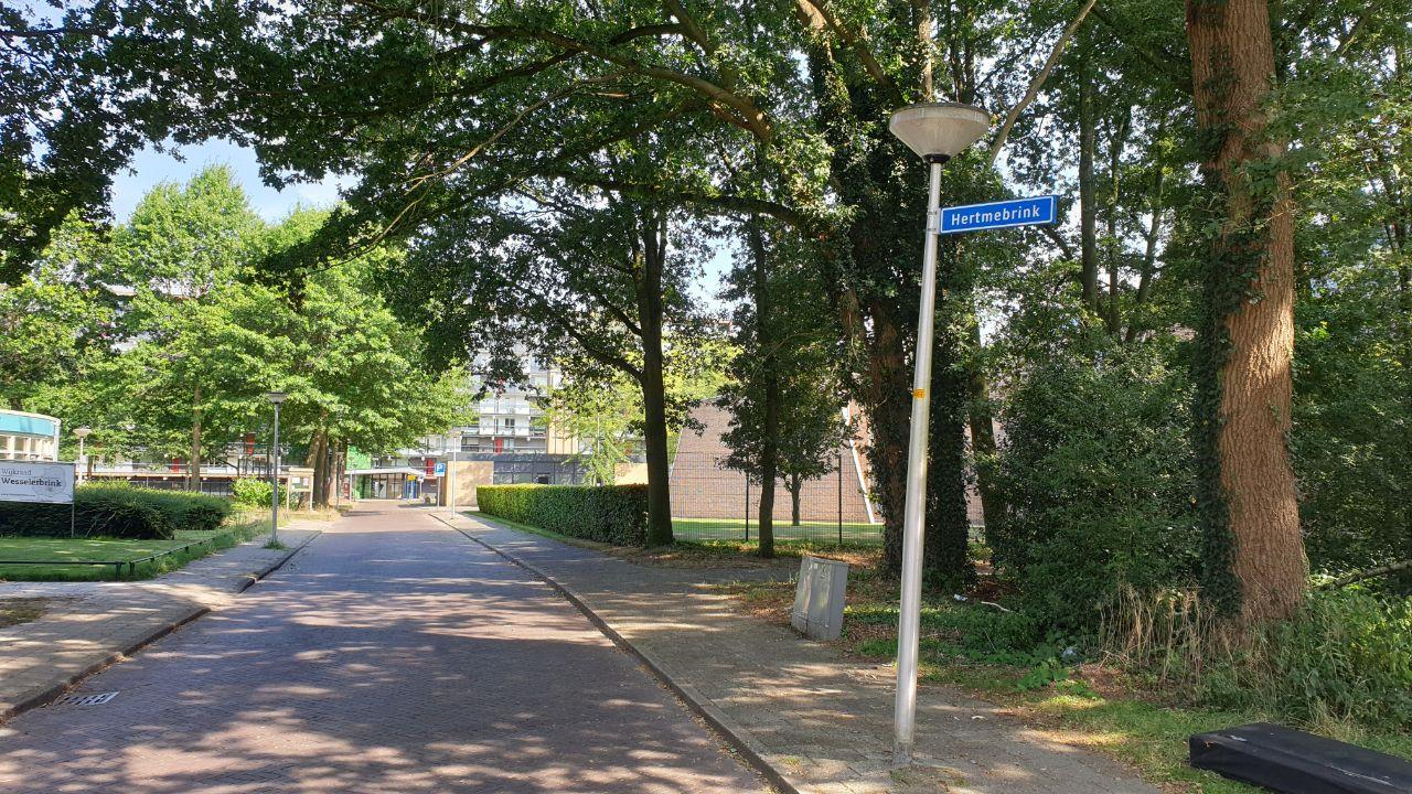 De Hertmebrink in Enschede.