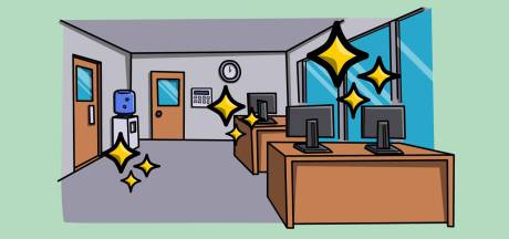 Veel minder afleiding op werk met kantoor-Kondo
