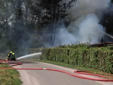 Chalet uitgebrand op camping in Kesteren