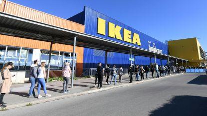 IKEA-winkels heropenen maandag, met vernieuwd drive-insysteem