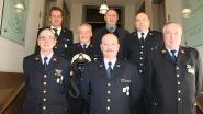 Brandweer brengt hulde aan trouwe manschappen