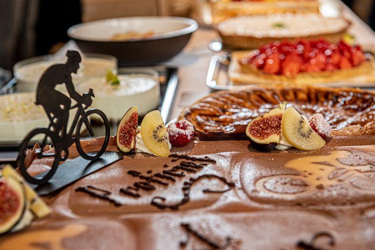 De taarten waren in thema.