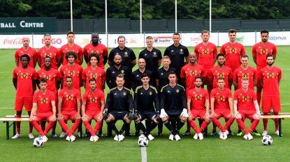 Hier is hij dan: de officiële ploegfoto van de Rode Duivels