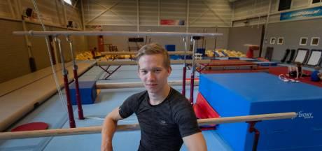 Na zeven medailles op het NK pakt turner Elias Ridder zijn verdiende rust