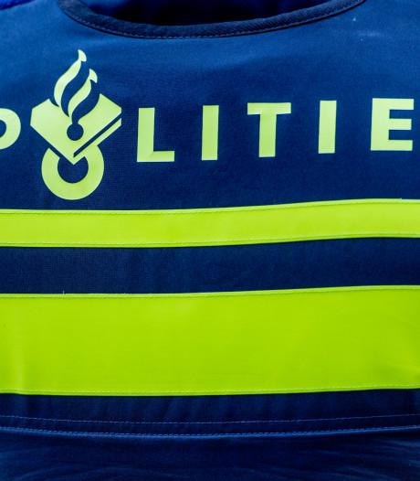 Veel politie voor man in het water