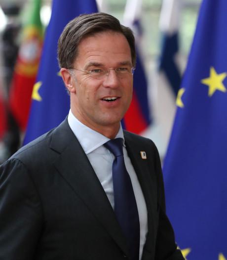 Rutte doet niet aan tussenstand EU-topbanen: 'Voor de zekerheid hotel geboekt'