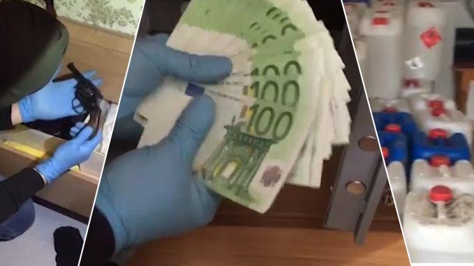 VIDEO. Spaanse politie rolt een van grootste cocaïnelabo's van Europa op en geeft beelden van invallen vrij