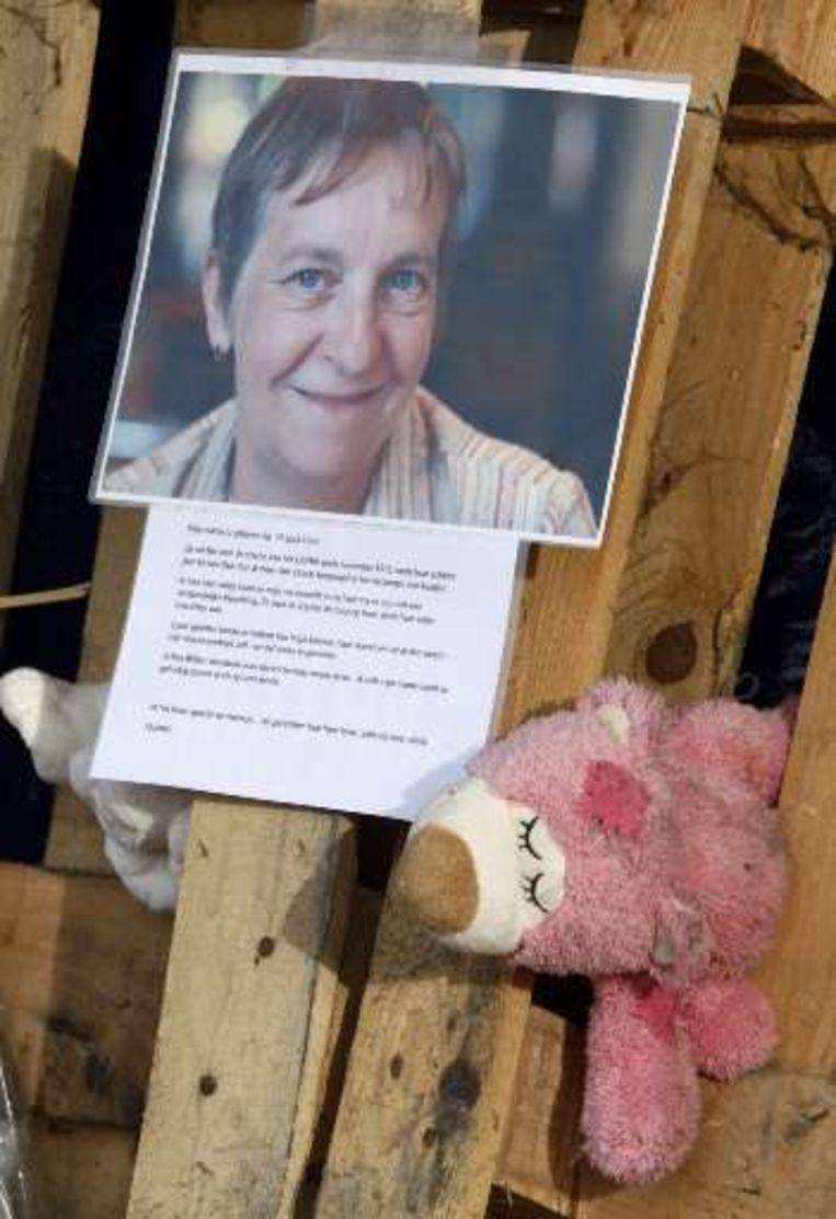 Het volwassen slachtoffer is Marita Blindeman, een 54-jarige medewerkster van de crèche.
