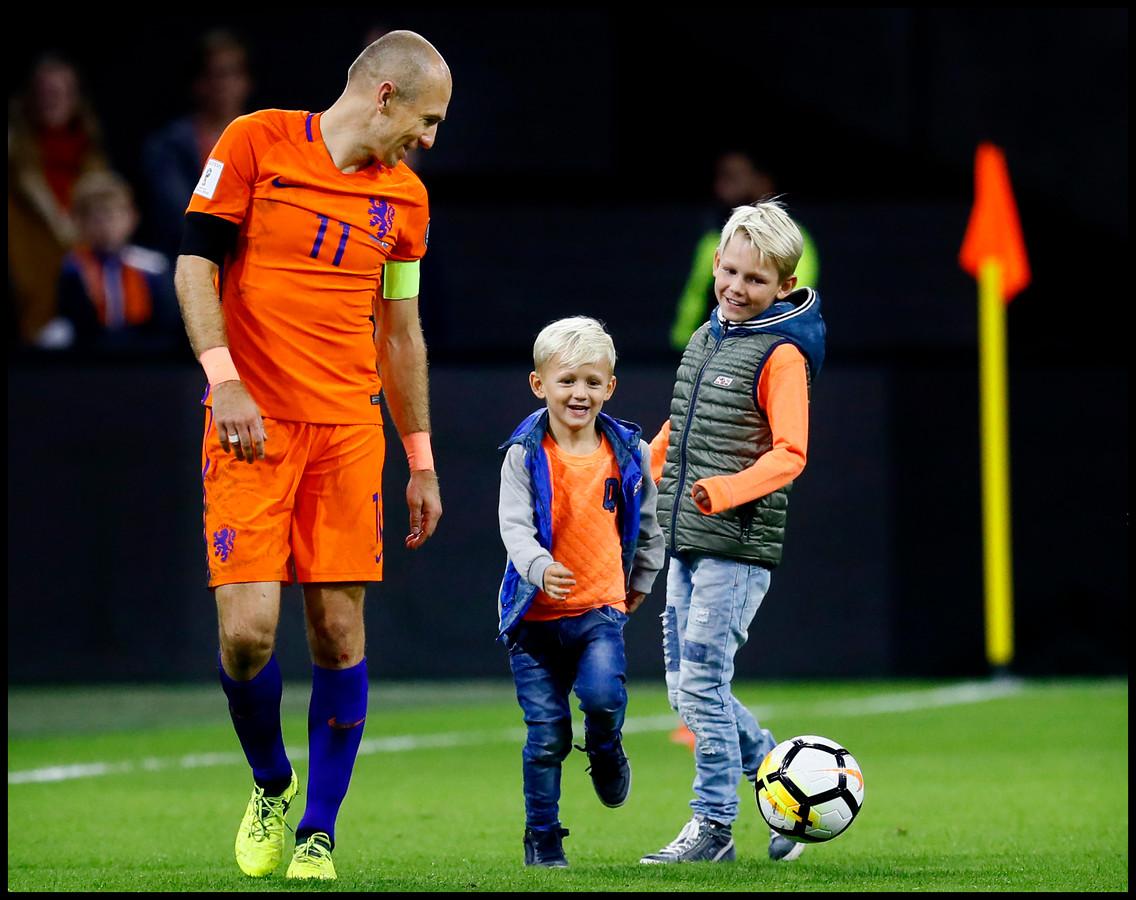 Arjen Robben Luka Robben