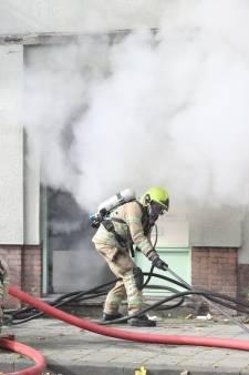 Brand in pand aan de Lorentzlaan in Schiedam