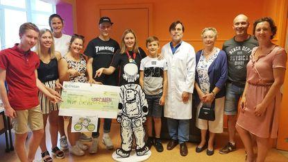 KLJ Zele-Heikant schenkt 6.550 euro aan het Kinderkankerfonds