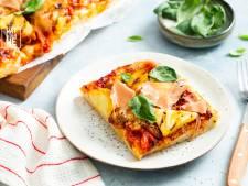 Wat Eten We Vandaag: Pizza hawaii deluxe