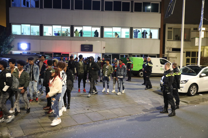 The Eritreans party is getting out of hand in The Hague.