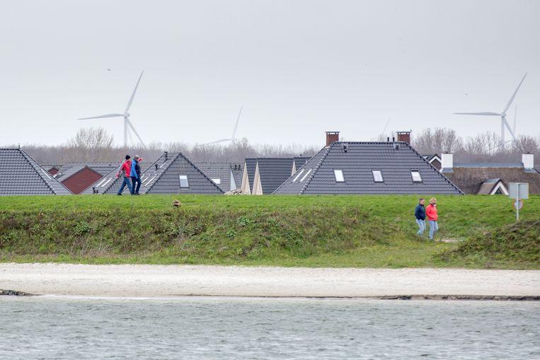 Zeewolde, vooralsnog 's lands enige energieneutrale gemeente. Beeld Herman Engbers