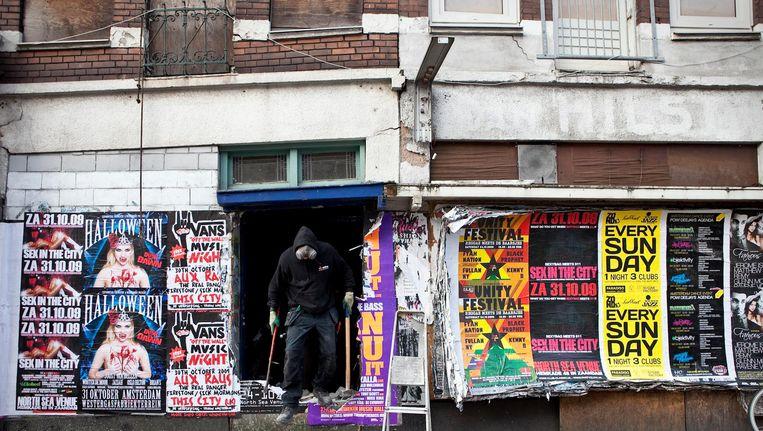 In 2009 werden 35 sociale huurwoningen gesloopt, toen nog om plaats te maken voor koopwoningen Beeld Marc Driessen