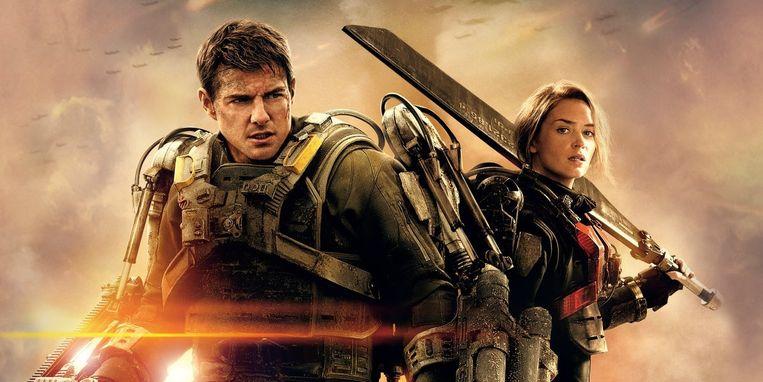Tom Cruise en Emily Blunt in 'Edge of Tomorrow'