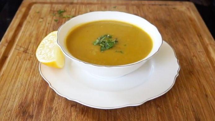 De soep van de Healthy Sisters.