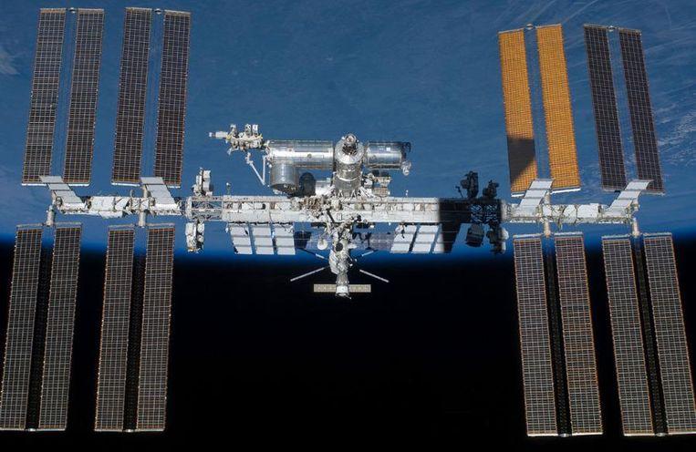 Het ISS-ruimtestation in 2011