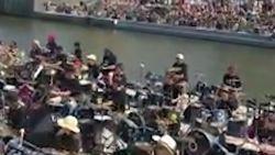 """Filmpje van """"Kortrijk Drumt"""" gaat viraal: al 21 miljoen keer bekeken"""