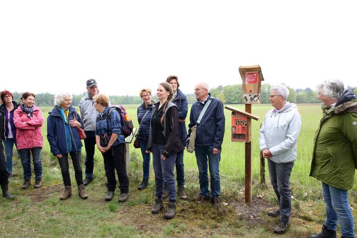De vrouw met de paardenstaart is Annemiek van Dijk.