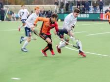 HC Tilburg nipt onderuit bij Oranje-Rood