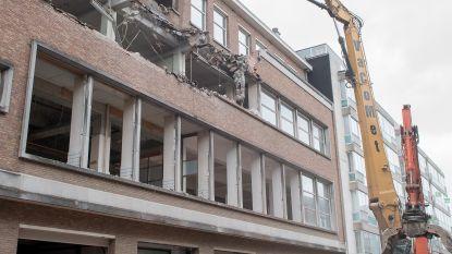 Sint-Amandsstraat tijdelijk dicht door sloopwerken Proximussite