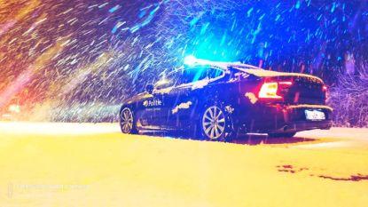 Vier ongevallen door de sneeuwval