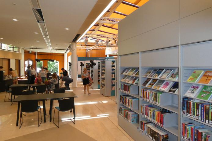 De bibliotheek is in De Meander van start gegaan deze maandag.