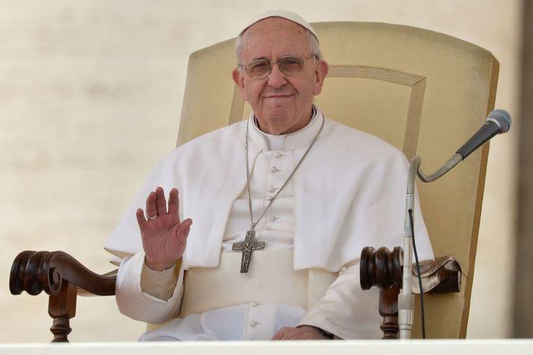 De Argentijnse paus Franciscus. Beeld afp
