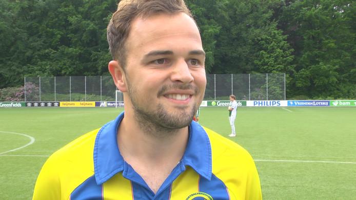 Stefan Hulsen scoorde namens Nijnsel, dat met 0-2 won bij Herpinia
