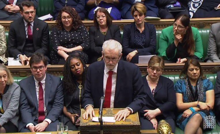 Oppositieleider Jeremy Corbyn.