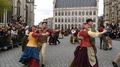 De weergoden zijn de Leuvense Paasfeesten gunstig gezind…