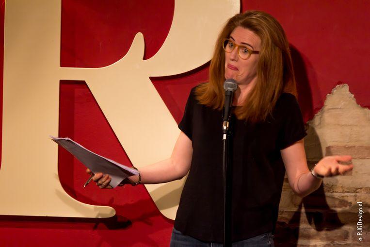 Comedian Sarah Kendall in Toomler. Beeld PJGDesign.nl