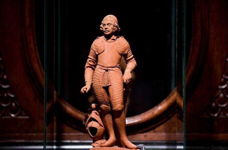 Het beeld van Johan Maurits. Beeld Freek van den Bergh / de Volkskrant