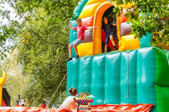 The Big Bounce ging twee maal door op het recreatiedomein De Ster in Sint-Niklaas