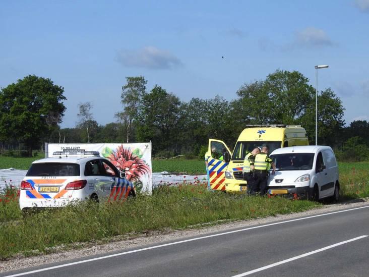 Automobilist lichtgewond bij ongeluk in Valkenswaard