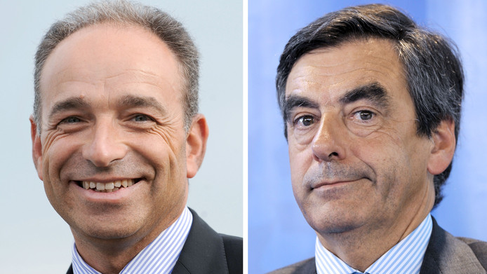 Jean-François Copé, nouveau président de l'UMP, et François Fillon