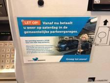 'Waarschuwing' bezoekers Veenendaalse parkeergarages