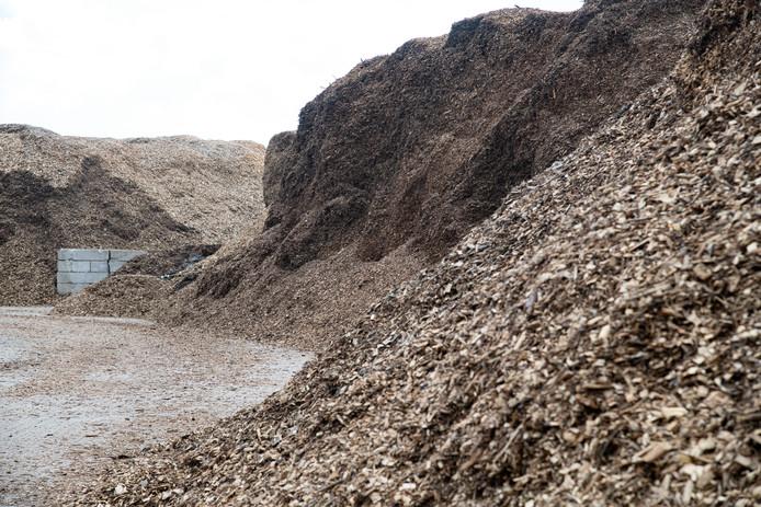 Biomassa in Cuijk.