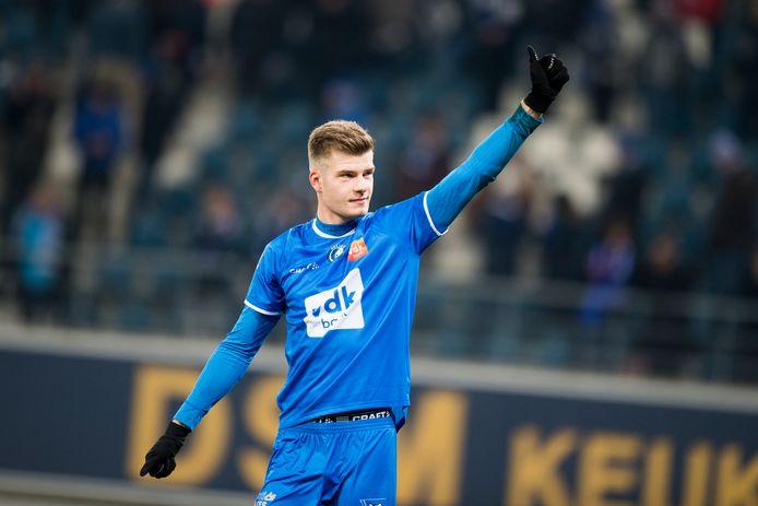 Alexander Sorloth toonde meteen zijn meerwaarde bij AA Gent.