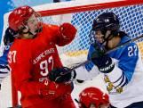 Russische ijshockeyster geschorst voor trap