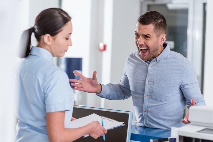 Ziekenhuismedewerkers ervaren in de coronaperiode meer agressie. - Foto ter illustratie.