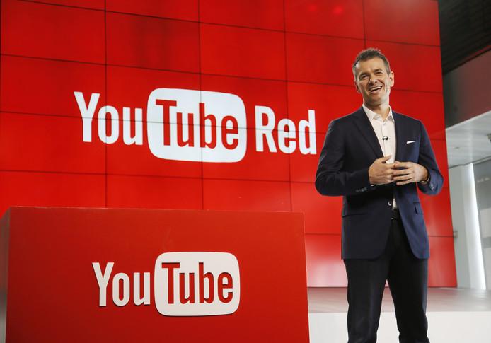 Robert Kyncl, Chief Business Officer, presenteerde woensdag YouTube Red.