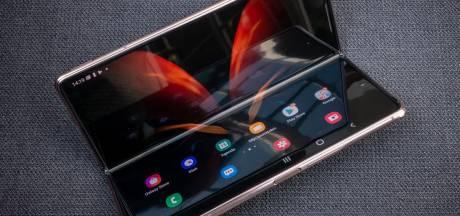'Samsung presenteert volgend jaar telefoon met oprolbaar scherm'