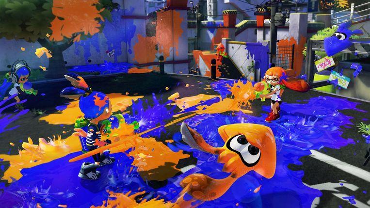 Beeld uit Splatoon Beeld Nintendo