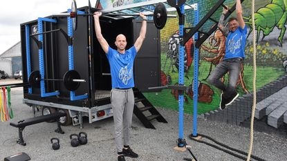Ondernemers lanceren mobiele fitnessbox