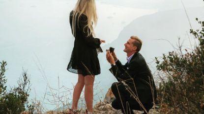 Tim Wellens gaat op de knie: Lotto-renner vraagt wederhelft Sophie ten huwelijk